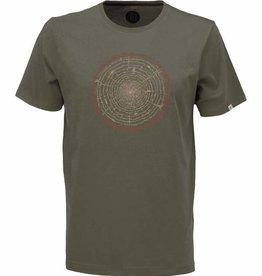 ZRCL ZRCL, T-Shirt Tree Ring, olive, L