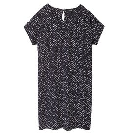 Recolution Recolution, ECOVero Dress Dots, navy, XS