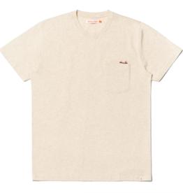 RVLT RVLT, 1233 CAN Regular T-Shirt, offwhite-mel, S