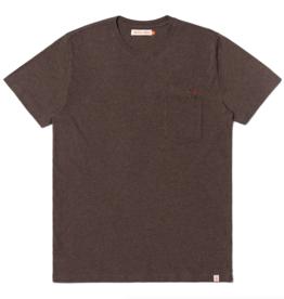 RVLT RVLT, 1233 FIS Regular T-Shirt, brown-mel, M