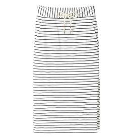 Recolution Recolution,Midi skirt Stripes, navy/ white, L