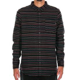 Iriedaily Iriedaily, Insito stripe shirt, black red, S