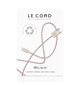 Le Cord LeCord, Ghost Net 2.0, 2 Meter, spiral