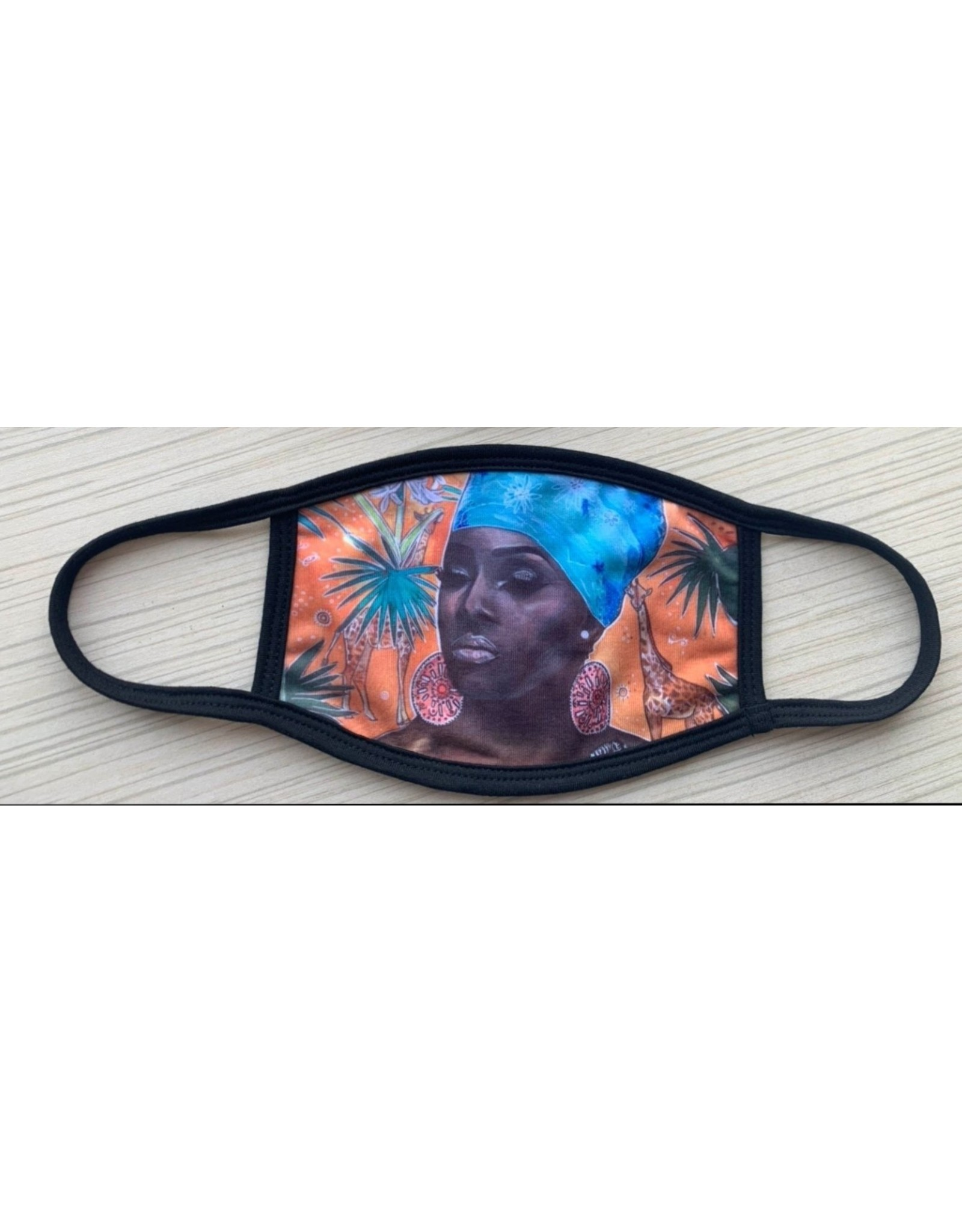 Catherine Eager Art Mama Africa Face Mask