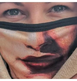 Catherine Eager Art Athena Lips Face Mask