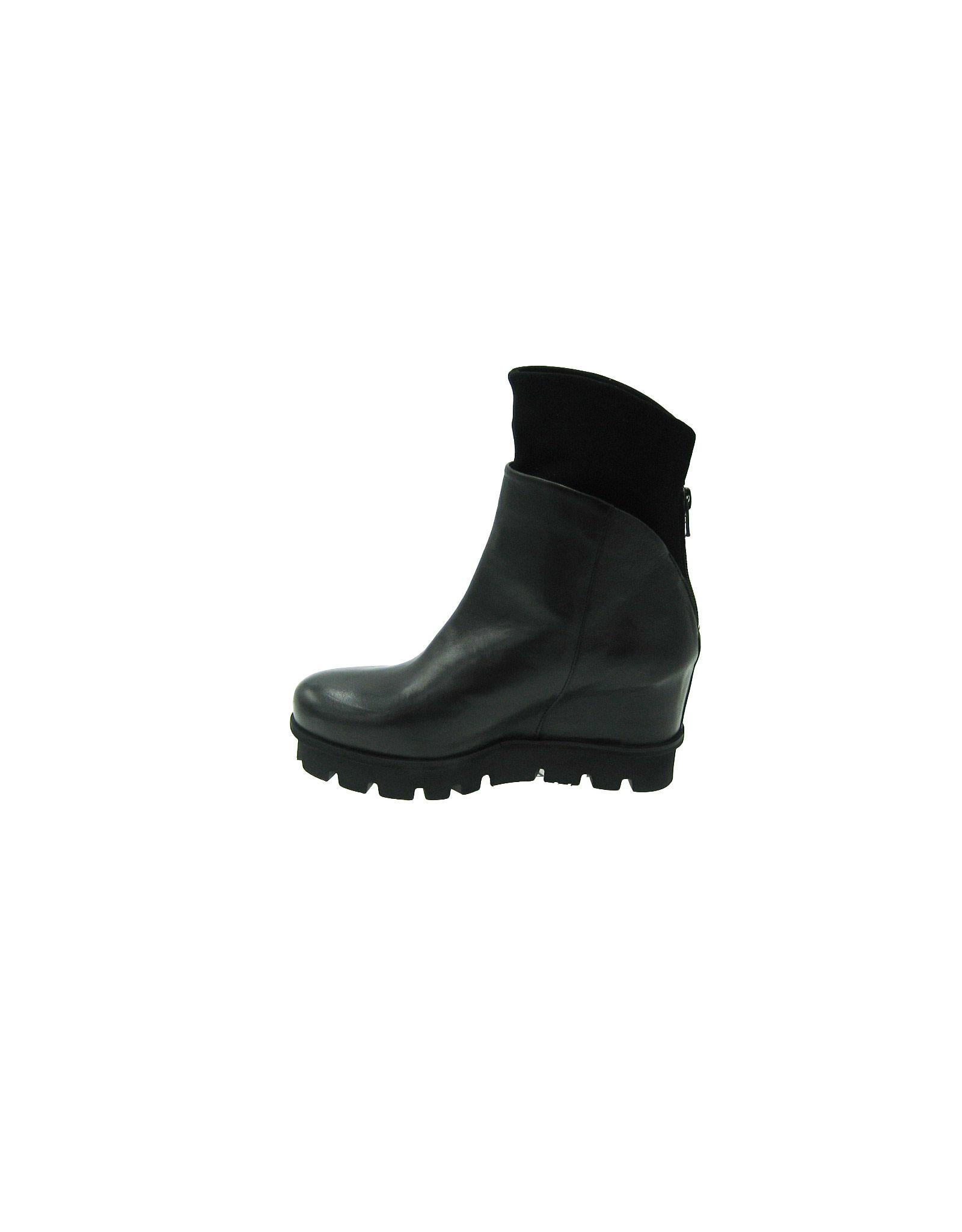 Patrizia Bonfanti Jun Zanzi Black Ankle Boot