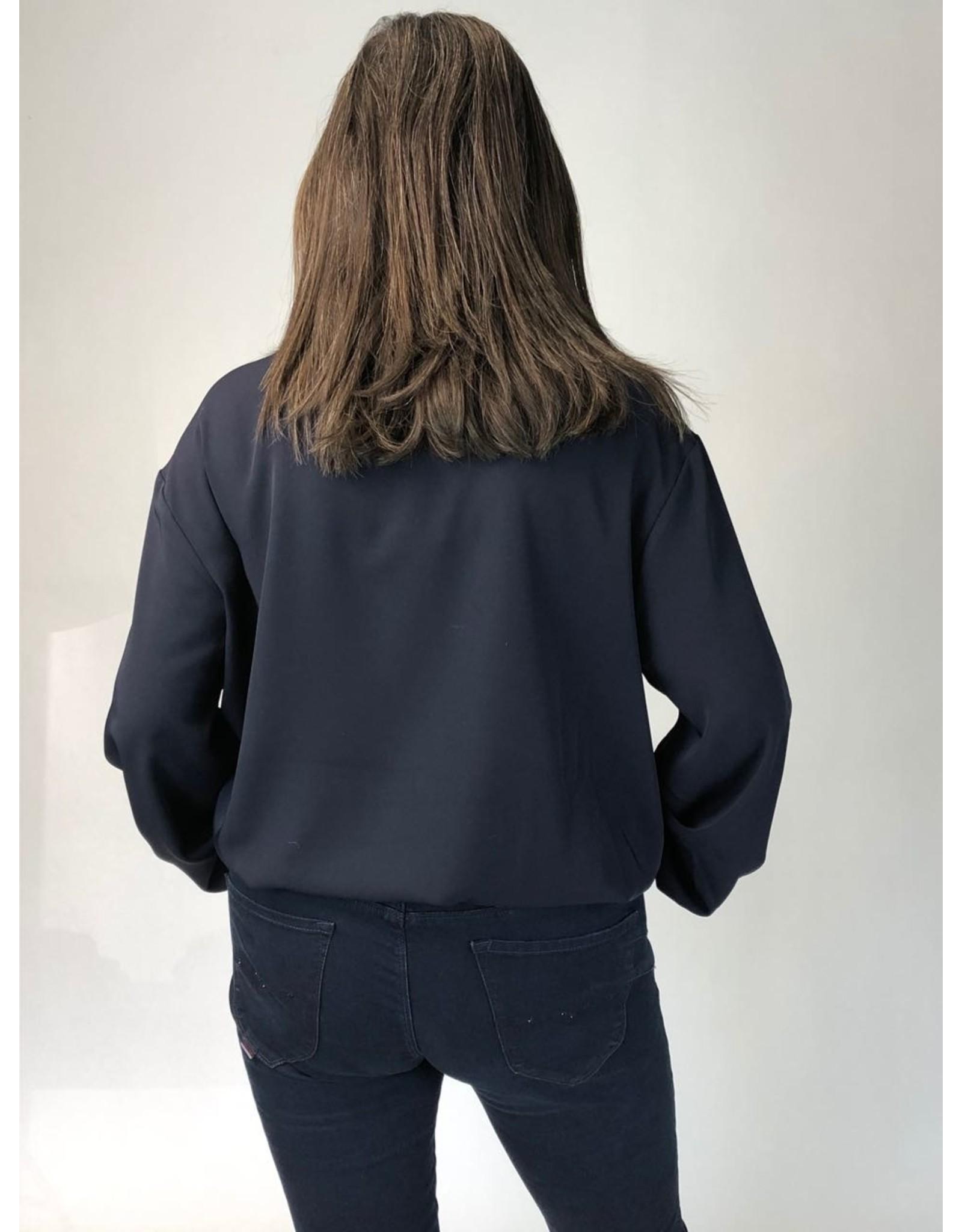 Peruzzi Short Shirt w Gathered Hem