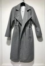 PARIS ES'TYL Coat with drawstring