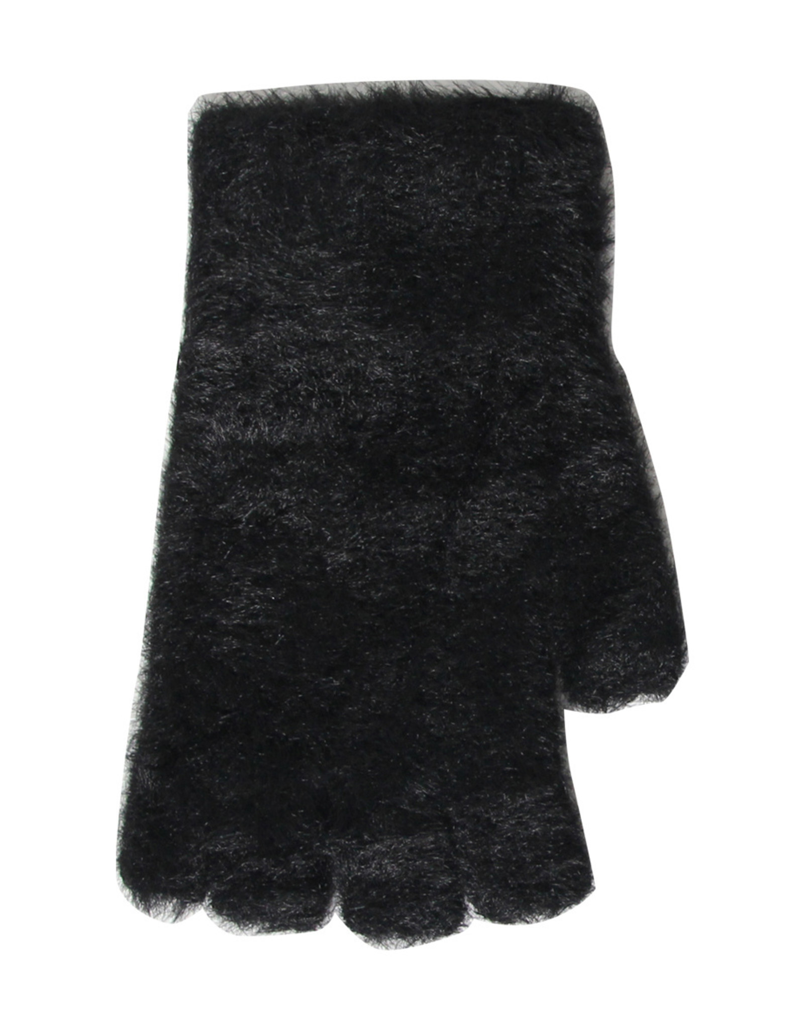 PARIS ES'TYL Faux Fur Fingerless Gloves