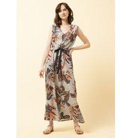 La Fee Maraboutee Bird Of Paradise Sleeveless Long Dress