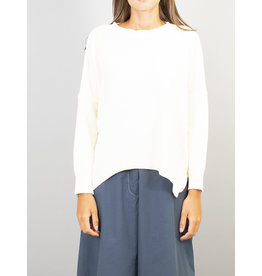 Humility Round Neck Jumper with Side Splits