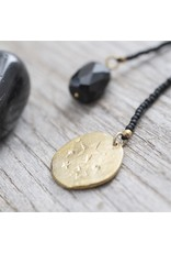 A beautiful Story Fairy Gold Plated Necklace