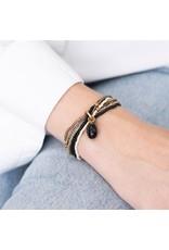 A beautiful Story Nirmala Gold Plated Bracelet