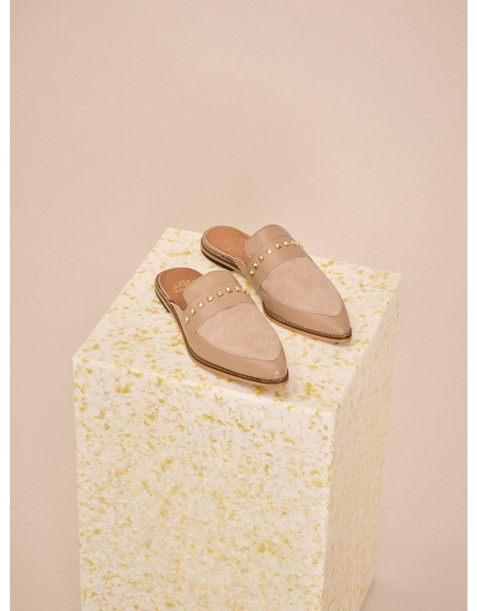 Mos Mosh Doha Suede Flat Shoe