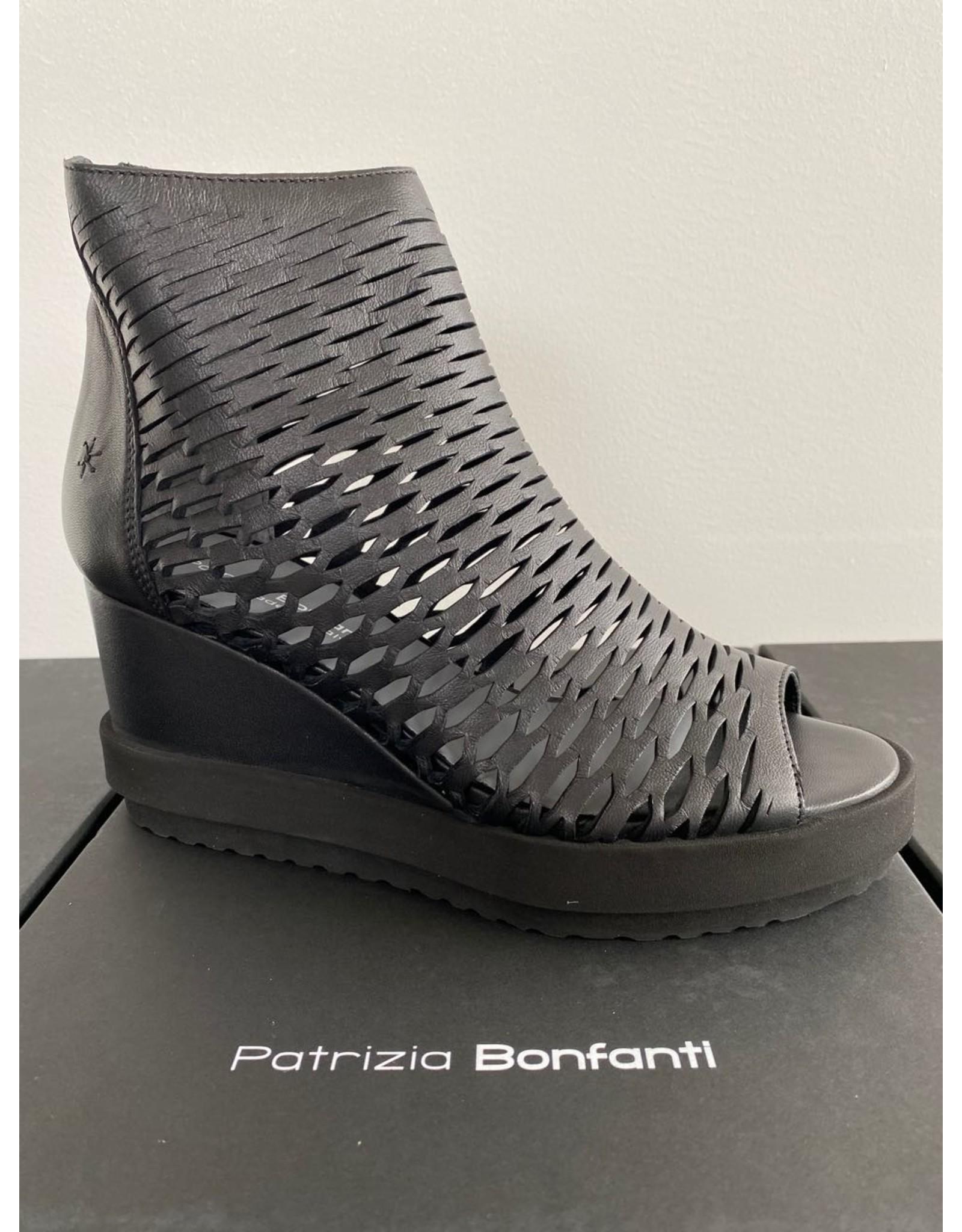Patrizia Bonfanti Wedge Peep Toe Boot