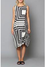 Peruzzi Op Art Dress
