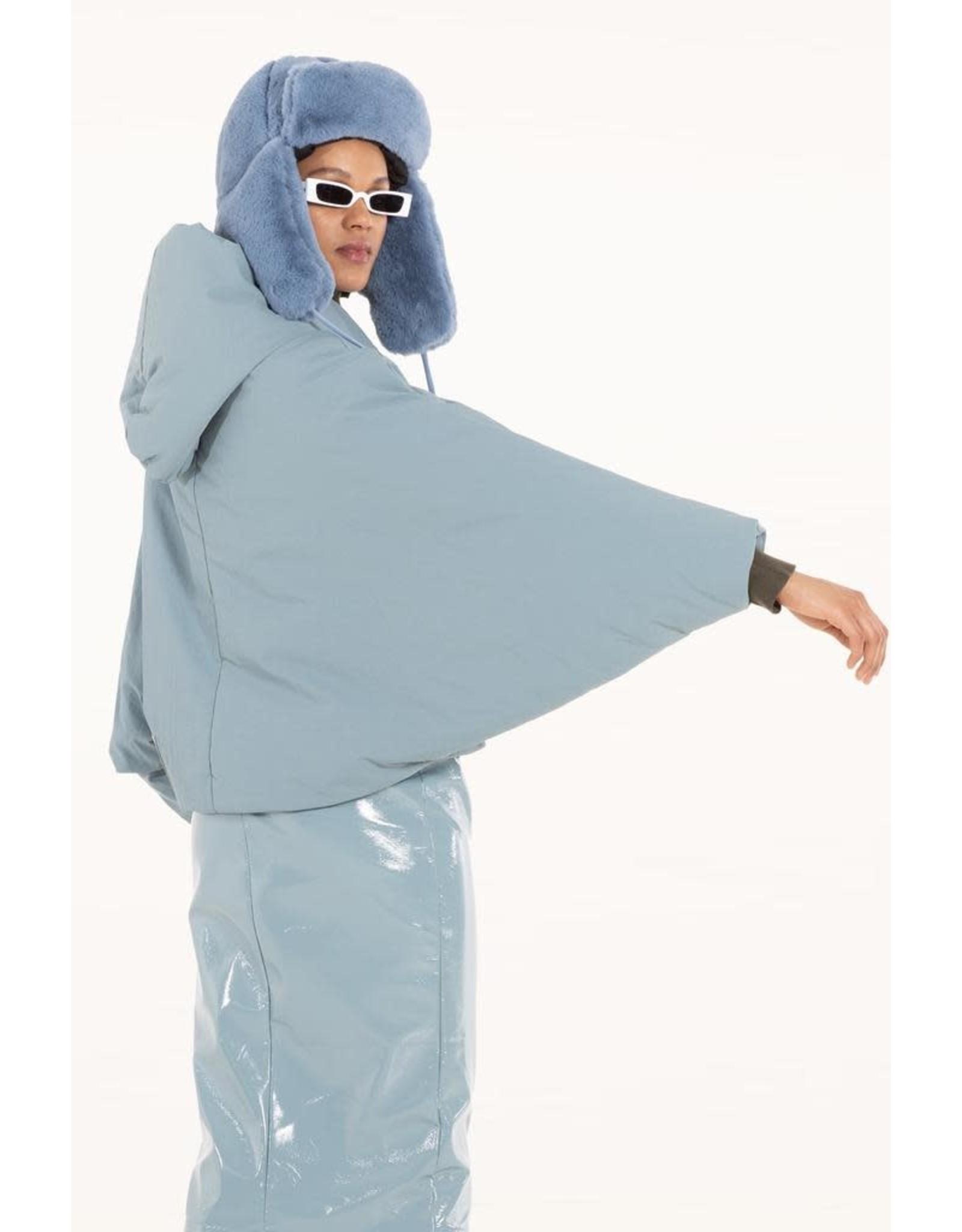 OOF OOF - Short Bat wing hooded jacket - OFJA9001