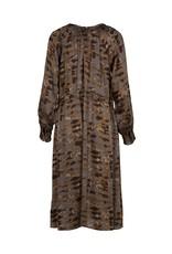 Nu Denmark Esma Patterned Dress Grey Mix