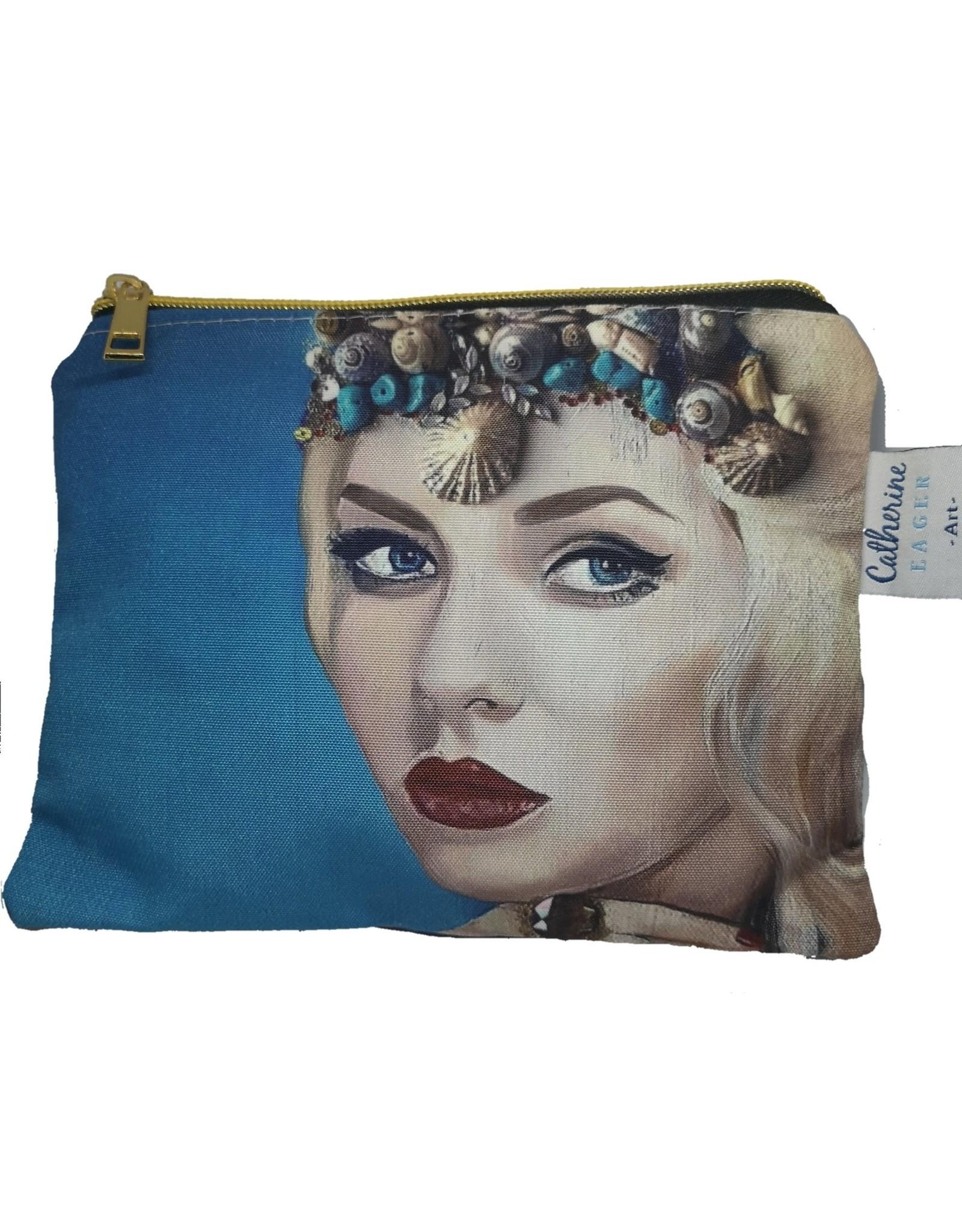 Catherine Eager Art The Goddess Bag - Mermaid