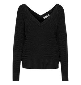 ICHI Ichi - IHKARNA Long Sleeve Knit Top