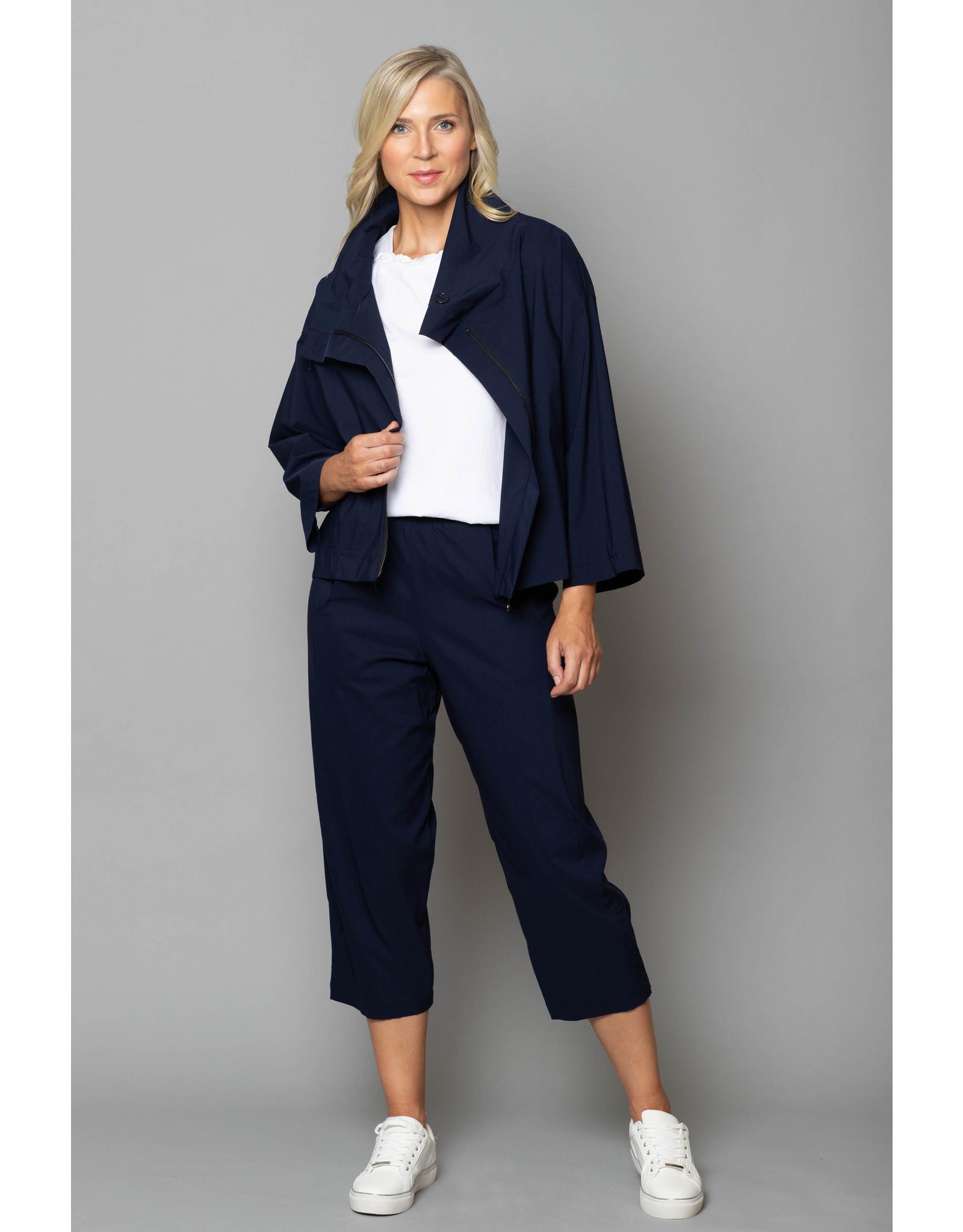 Peruzzi Peruzzi - Culotte Style Trousers in Technical Fabric