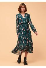 La Fee Maraboutee Creola Printed Wrap Dress