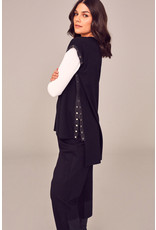 Peruzzi W21135 - Gilet With Snap Buttons
