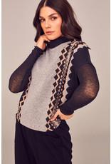 Peruzzi W21159 - Side Pattern Knit