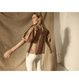 Mos Mosh 139540 - Cassandra Leather Blouse -