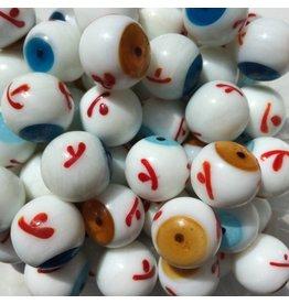Lichtblauw oog, 20mm