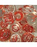Red Moonstone *glow in the dark* 25mm