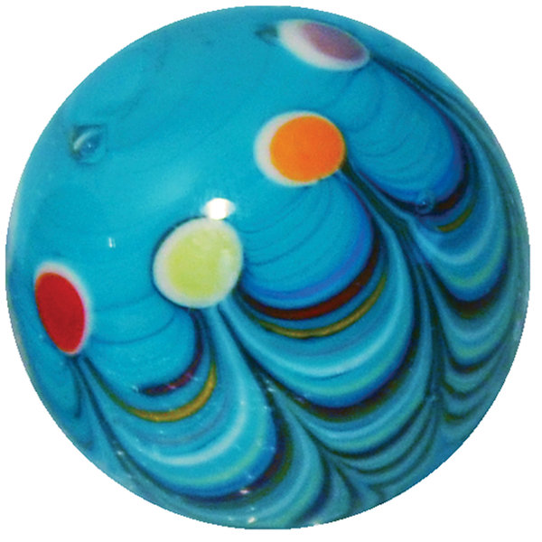 Cabaret - blauw 22mm