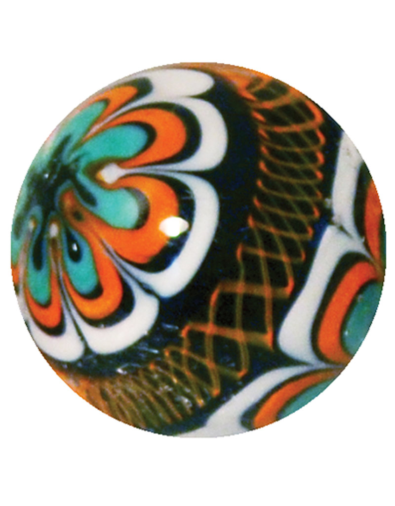 Rinky Dinky - oranje, 22mm