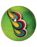Pauwenveer - groen 22mm