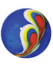 Pauwenveer - blauw 22mm