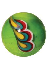 Pauwenveer - groen, 16mm