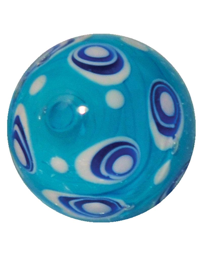 Auster - lichtblauw, 16mm