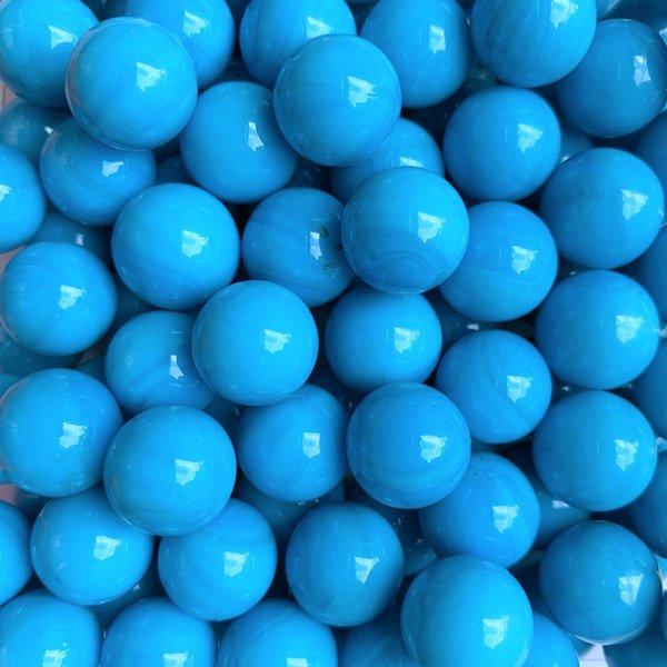 Opak - azuurblauw 14mm