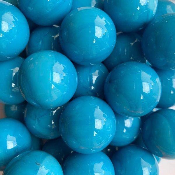 Opak - azuurblauw 25mm