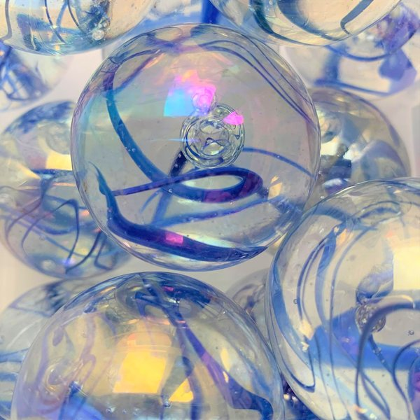 Aquarel - blauw 42mm