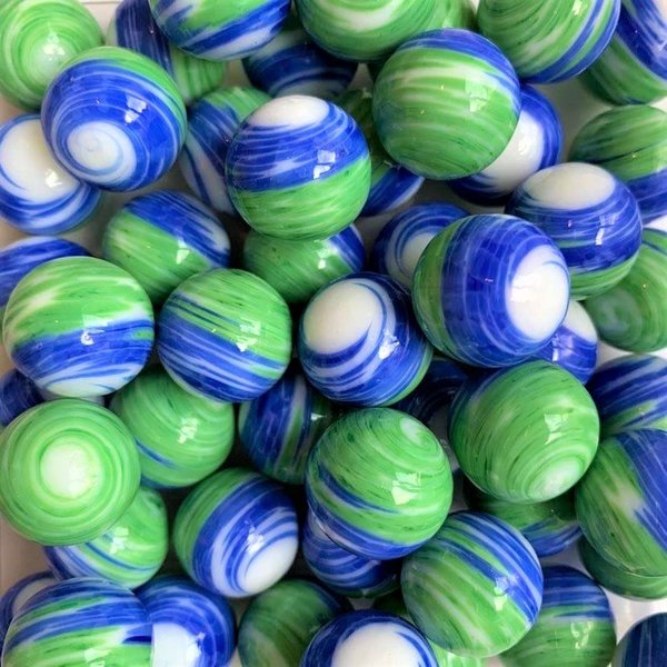 Tornado - blauw-groen 16mm