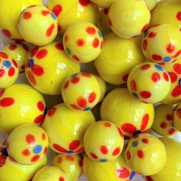 Lente - geel 25mm