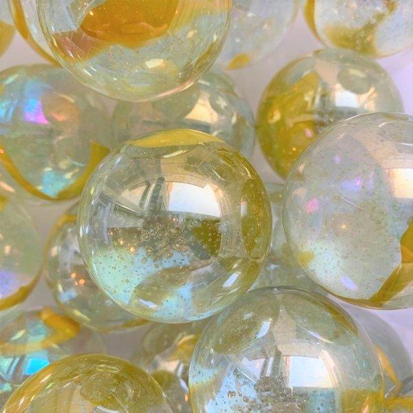 Druppel - geel 42mm