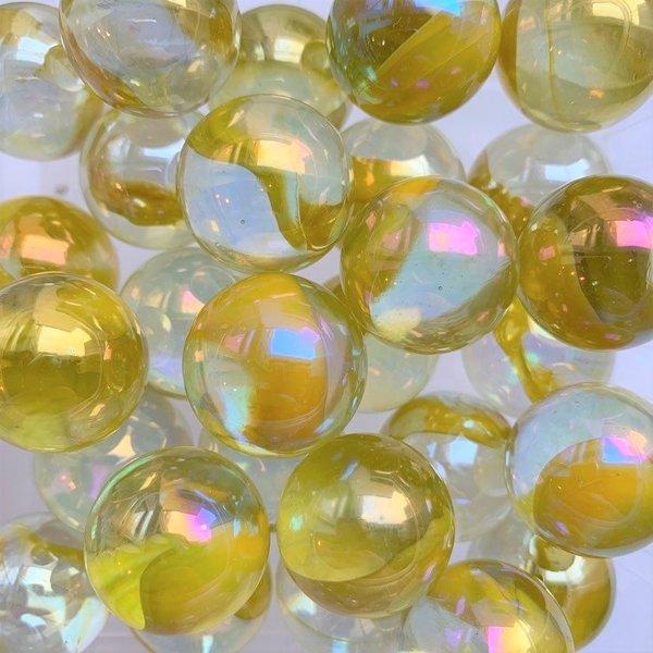 Druppel - geel 22mm