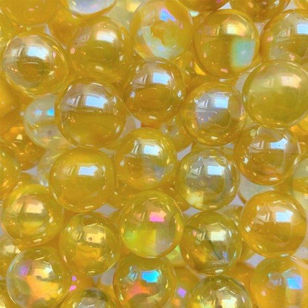 Druppel - geel 16mm
