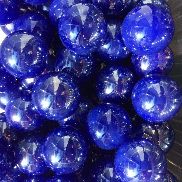 Blauwe parel 22mm