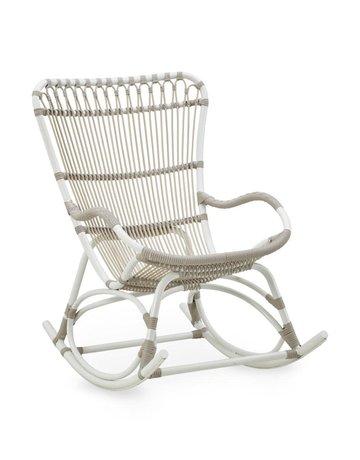 Exterior Monet Rocking Chair - Exterior - Dove White