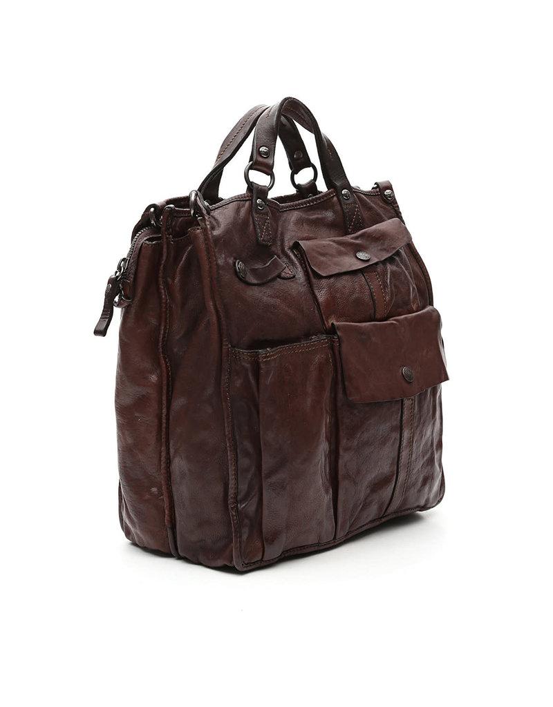 Campomaggi 100% genuine leather. style Tote bag. Moro