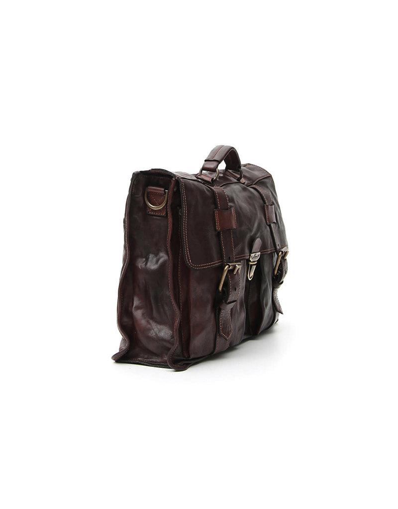 Campomaggi Carrier bag. Big. Genuine Leather. Moro.