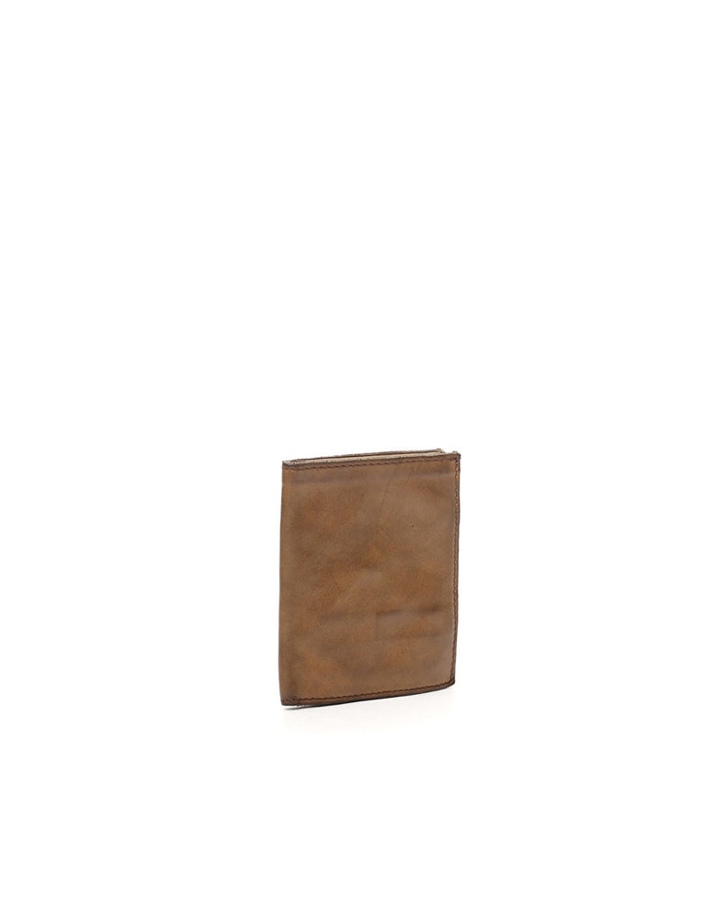 Campomaggi Wallet. Genuine Leather. Compact w 7 Slots. Military Green.